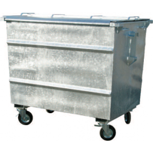 stalen afvalcontainer kopen